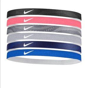NWT Nike 6-pack solid headband